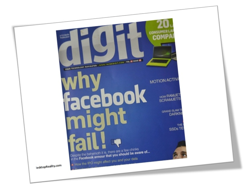 Why Digit Thinks that Facebook Might Fail